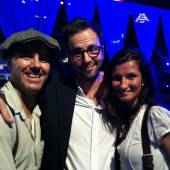 mit Kurt Krömer und Zauberer Giovanni Alecci www.alecci.de