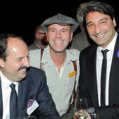 mit Johann Lafer und Mousse T.  und Zauberer Giovanni Alecciwww.alecci.de